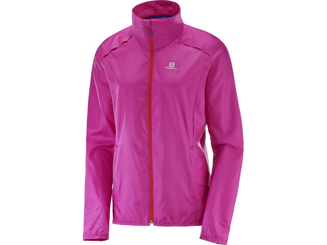Salomon Agile Wind Jacket Women rose violet